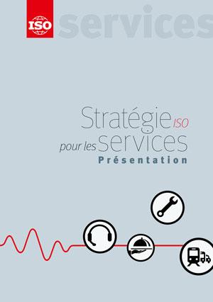Page de couverture: Stratégie ISO pour les services - Présentation