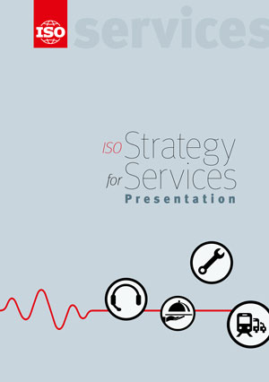 Cover page: ISO Strategy for Services - Presentation