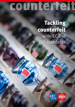 Титульный лист: Tackling counterfeit with ISO and IEC standards