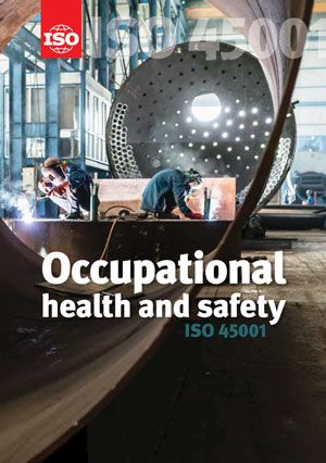 Cover page: ISO 45001 - Occupational health and safety