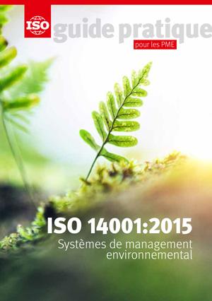 Page de couverture: ISO 14001:2015 - Systèmes de management environnemental - Guide pratique pour les PME
