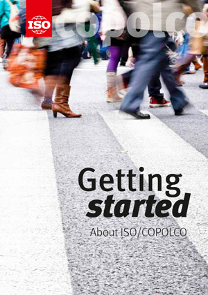 Cover page: Getting started - About ISO/COPOLCO