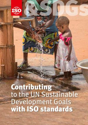 Cover page: Contributing to the UN Sustainable Development Goals with ISO standards