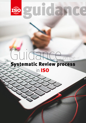 Cover page: Guidance on the Systematic Review process in ISO