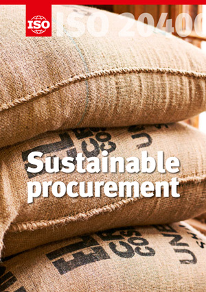 Cover page: ISO 20400 - Sustainable Procurement