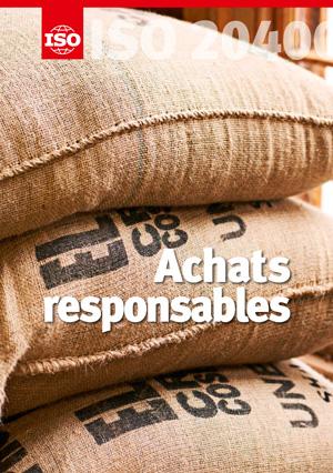 Page de couverture: ISO 20400 - Achats responsables