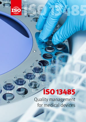 Cover page: ISO 13485 - Quality management for medical devices
