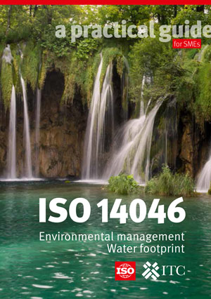 Page de couverture: ISO 14046 - Environmental management - Water footprint - A practical guide for SMEs