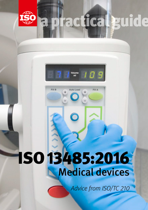 Cover page: ISO 13485:2016 - Medical devices - A practical guide