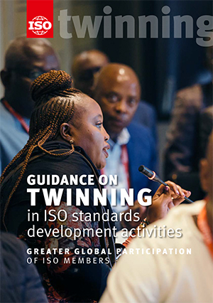 Cover page: Guidance on Twinning in ISO standards development activities