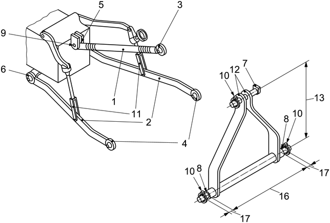 Cat 0 3 Point Hitch Dimensions : Class point hitch bing images